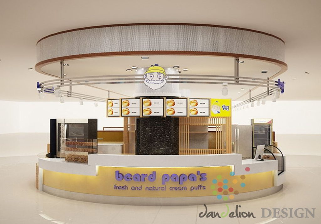 thiet ke beard papa bakery shop combodia 1