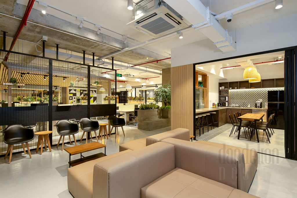 Seating Bespokify Fashion-tech office in Danang by Dandelion Design 25